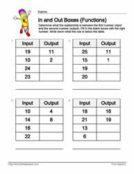 Input Output Subtraction 4
