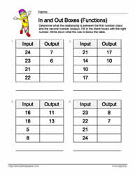 Input Output Subtraction 8