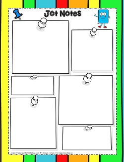 Graphic Organizer Jot Notes