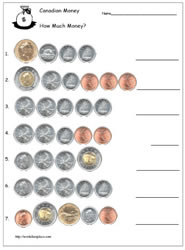 Identify the Value of the Coins