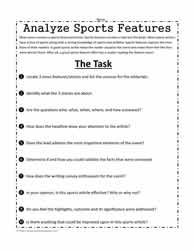 Sports Writing Analysis