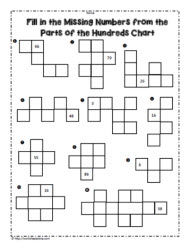 100 Chart Worksheets