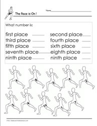 Ordinal Numbers Worksheet 7