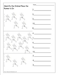 Ordinal Numbers Worksheet 8