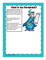Paragraph Worksheet
