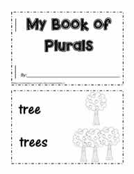 Make A Plural Booklet