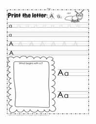Print the Letter A