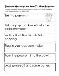 Procedural Writing Worksheets Worksheets