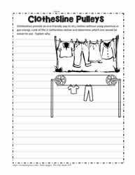 Pulleys on Clotheslines