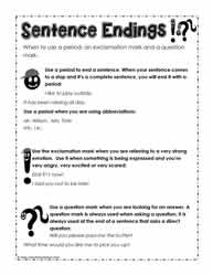 How To Use Questions, Periods & Exclamation Marks