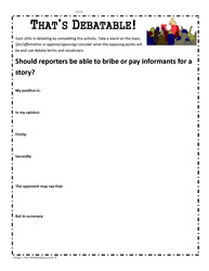 Reporter Dilemma Activity 2