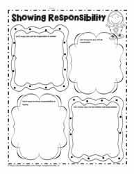Responsibility Worksheet