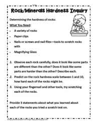 Inquiry for Rock Hardness
