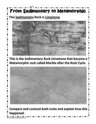 Sedimentary to Metamorphic