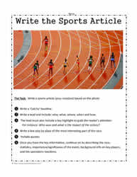 Write About Sports