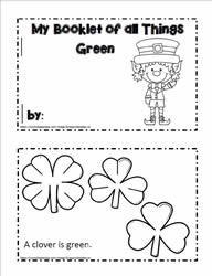 Mini 'All Things Green' Booklet