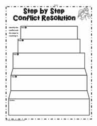 Steps to Conflict Resolution
