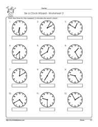 Worksheet -2-Telling-Time