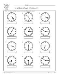 Worksheet -3-Telling-Time