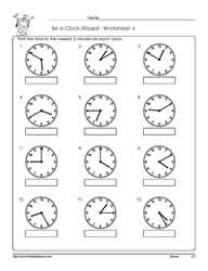 Worksheet -4-Telling-Time