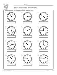 Worksheet -7-Telling-Time
