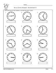 Worksheet -8-Telling-Time