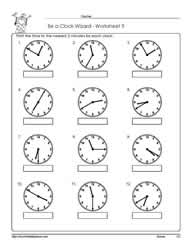 Worksheet -9-Telling-Time