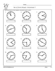 Telling-Time-Worksheet-7