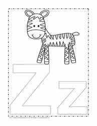 Alphabet Coloring PagesWorksheets