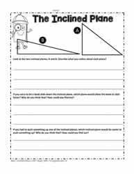 Inclined Plane Worksheet