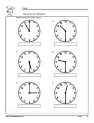 Telling-Time-Half-Hour-Worksheet-2