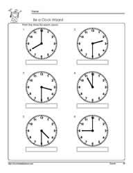 Telling-Time-To-The-Hour-Worksheet-5