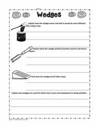 Wedge Worksheet