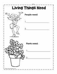 Printables Living And Nonliving Worksheets living and non things worksheetsworksheets need worksheet