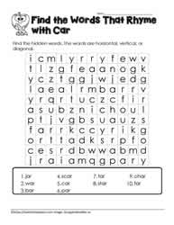 a Word Search