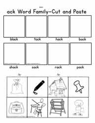 ack Cut and Paste Worksheet