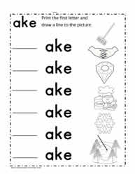 ake Vocabulary Cards