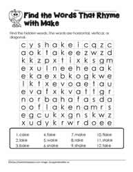 ake Word Search