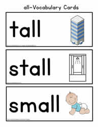 all Word Family Vocabulary