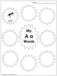 My Aa Words
