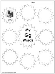 My Gg Words