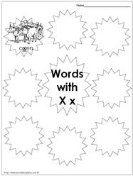 My Xx Words