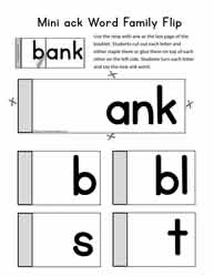 ank Words Flip Book