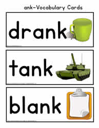 ank Vocabulary Cards