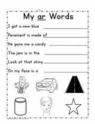 Sentences For ar Words