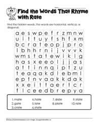 ate Word Search