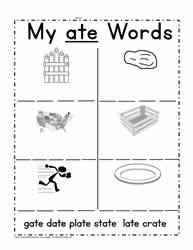 ate Words Worksheet