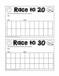 Race for 20 Signatures for Positive Behavior
