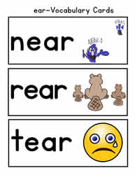 ear Vocabulary Words