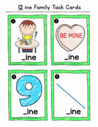 ine Words Task Cards